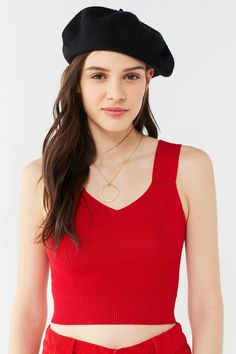 UO Remy Cropped Sweater Tank Top | Urban Outfitters