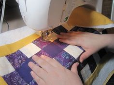 The absolute best beginner quilt tutorial I've read yet. So helpful!