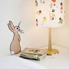 Belle & Boo 'Boo' Rabbit Wall Sticker at alexandalexa.com