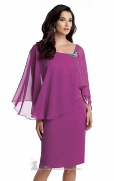 mother of the bride dresses knee length plus size - Google Search