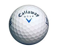 nice Callaway Big Bertha Blue Recycled Practice Golf Balls - (36 Pack)