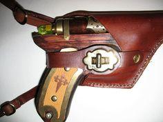 Steampunk Ray gun holster by Utinni on DeviantArt