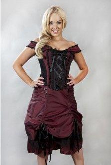 Dita Steampunk Corset Dress--Pearson s Renaissance Shoppe Vokuhila, Schwarze  Spitze, Kleider, eefc00133f