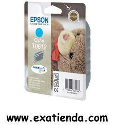 Ya disponible Cartucho Epson c13t061240 cyan   (por sólo 18.89 € IVA incluído):   - Compatible con: - Epson Stylus D68, - Epson Stylus D88 - Epson Stylus D88Plus, - Epson Stylus DX3800 - Epson Stylus DX4200 - Epson Stylus DX4800 - Color Cyan Garantía de fabricante  http://www.exabyteinformatica.com/tienda/668-cartucho-epson-c13t061240-cyan #epson #exabyteinformatica