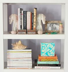 How To Style Your Shelves | theglitterguide.com