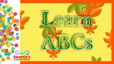 Learning your ABCs is a very important thing! Sweetie is here to help you learn them with an Autumn theme. Both upper and lower case letters will fall with t. Teaching Toddlers Abc, Learning The Alphabet, Falling Leaves, Abcs, Autumn Theme, Lower Case Letters, Autumn Leaves, Let It Be, Party