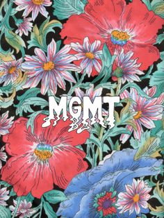 cute MGMT floral thingy