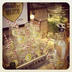 Www.candyclouds.es #mesasdulces #candybar #bautizo #bodas #comuniones  #mojito
