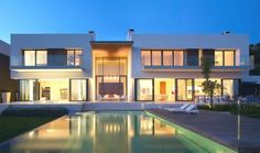Andalucian Villa by McLean Quinlan Architects (http://www.letmebeinspired.com)