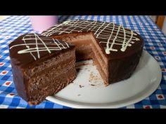 "Tort de ciocolata | Tort "" Praga ""Fabulos"". Desertul meu preferat… - YouTube Kitchen, Desserts, Food, Youtube, Prague, Tailgate Desserts, Cooking, Deserts, Kitchens"