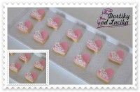 Heart Shaped Cookies, Ice Cube Trays, Cookie Decorating, Heart Shapes, Icing, Candy, Wedding, Decorated Cookies, Hearts