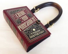 Crime and Punishment Book Purse