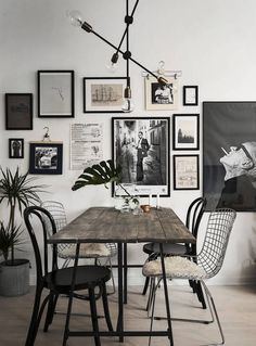 Home with a great art wall - via Coco Lapine Design// gallery wall inspiration, arrangements, styling, home decor for every part of the house, interior decorating Room Inspiration, Interior Inspiration, Interior Ideas, Home Interior Design, Interior Decorating, Decorating Ideas, Decor Ideas, Room Interior, Asian Interior