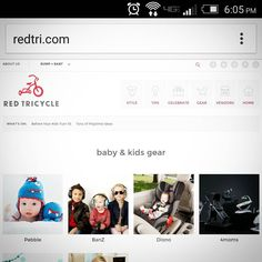 Check out Pebble's profile on Red Tricycle. #pebblechild #pebble #monster #redtri