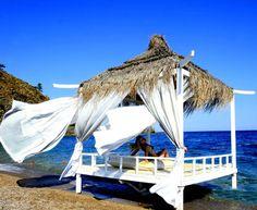 Pavillion am Strand vom Hotel Rixos Tekirova Kemer