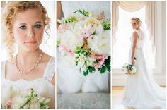 Blush Wedding at Patrick Haley Mansion, Chicago {Traci and Troy Photography}