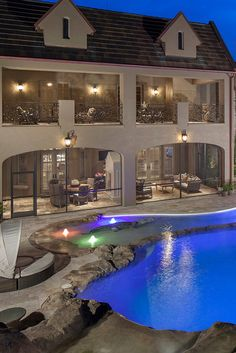 Wow! What a pool and home!