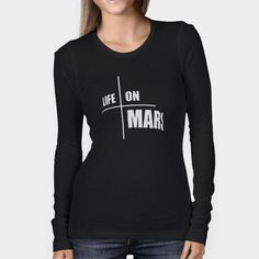 c916f941c2 Life on Mars Evil Dead 2 Mafia Woman s Long Sleeve