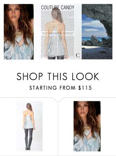 """""""Aquatic Candy"""" by couturecandy on Polyvore featuring modern"""