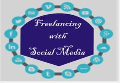 Freelancing with Social Media Social Media, Frame, Blog, Dates, Picture Frame, Frames, A Frame, Social Networks, Picture Frames