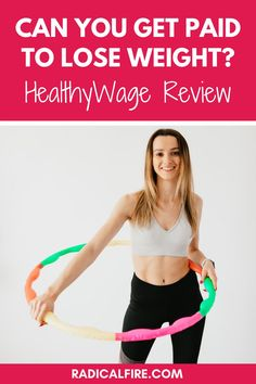 Do you want to get paid to lose weight, but find it difficult to stay motivated? In this HealthyWage review, we will outline exactly how you can make extra money by losing weight #sidehustle #makemoney #gethealthy #radicalfire Weight Loss For Women, Fast Weight Loss, Weight Loss Tips, Losing Weight, Lose Weight Naturally, How To Lose Weight Fast, Lose Fat, Lose Belly Fat, 54 Kg