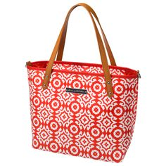 Petunia Pickle Bottom Diaper Bag Mini Downtown Tote Glazed Relaxing in Rimini #laylagrayce