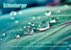 برنامج نمذجة المياه الجوفية Schlumberger Groundwater Software 2014.2 - التطبيقات الهندسية