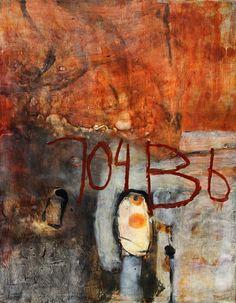 Gwendolyn Plunkett  Seven Oh Four B  2010  Encaustic/Oil bar  30 x 24 inches