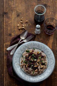| #Risotto al radicchio con taleggio e noci |  Provalo con il nostro riso semintegrale, in #offerta speciale.