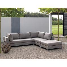 Ideal KAWAN XL Lounge Garten Sofa Sitzer Teak Recycled garten gartenm bel gartensofa gartenlounge loungegruppe sitzgruppe gartensessel teak te u