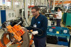 GM inaugura fábrica de motores  em Santa Catarina