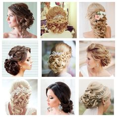 Wedding hair all around