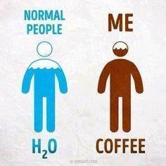 Normal people: Me: Coffee Smart Happy Coffee Shop Happy Coffee, Coffee Talk, Coffee Is Life, I Love Coffee, Coffee Break, My Coffee, Coffee Drinks, Coffee Shop, Coffee Cups