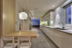 APARTMENT IN P.FALIRO Kitchen Architecture Design, Ios, Conference Room, House Design, Kitchen, Table, Furniture, Home Decor, Architecture Layout