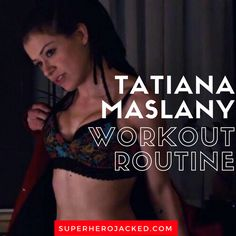 Tatiana Maslany Workout Routine and Diet Plan: The Physique behind the Many Faces of Orphan Black – Superhero Jacked Celebrity Diets, Celebrity Workout, Trx, Planet Fitness Workout, Health Fitness, Free Workout Plans, Gym Routine, Workout Routines, Tatiana Maslany
