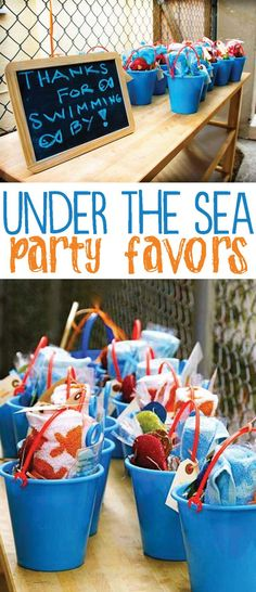 Under The Sea Party on Love The Day Water Birthday Parties, Birthday Party Favors, Party Favours, Kid Parties, Birthday Ideas, 1st Boy Birthday, Moana Birthday, Shark Party, Pisces Birthday