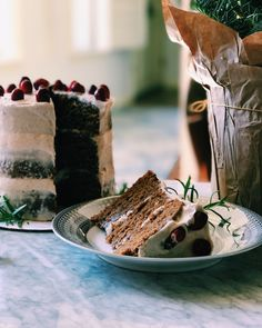 Gingerbread Cake With Spiced Citrus Buttercream