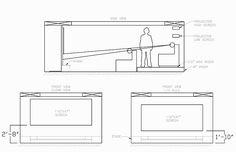 home theater seating platforms - Google Search