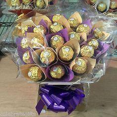 Ferrero Rocher Bouquet von Candyworldnationwide auf Etsy