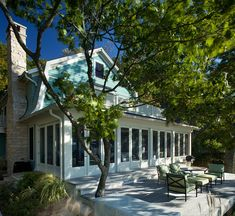 A turquoise lover's dream come true, inside and out! J. Visser Design, a residential design firm out of Grand Rapids, designed this delightful waterside cottage located in Saugatuck, Michigan…
