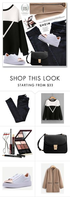 """SheIn"" by nena19sm ❤ liked on Polyvore featuring Vanessa Bruno Athé, Kevyn Aucoin, MANGO, KAROLINA, crazyforfashion and shein"