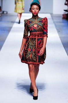 Africa Fashion Week London - Day 3 - Prêt-à-Poundo Okayafrica.