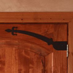 Nature's Curve Door Strap. Perfect for all Interior and Exterior uses. Available in a variety of finishes. Order online at www.basincustom.com