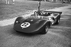 Pedro Rodriguez...  ELKHART LAKE, WI - SEPTEMBER 1: Pedro Rodriguez in the Ferrari 330 P4 he would race in the Road America CanAm on September 1, 1968 in Elkhart Lake, Wisconsin. (Photo by Alvis Upitis/Getty Images)