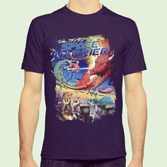 On instagram by martymillar #retrogames #microhobbit (o) http://ift.tt/1Wq3Uy6 Harrier #spaceharrier #sega #retro #retrogamer #slippytee #geek #nerd #clothing #videogames #pixelart #redbubble #society6 #teepublic #8bit #16bit #arcade #gaming #art #design #creative  #girlgamers #fashion #apparel #fanart