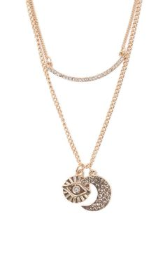 Cosmic Double Layer Necklace