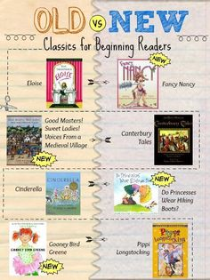 "Our ""new classics"" book list shares beginning reader titles that recall favorite books parents might remember."