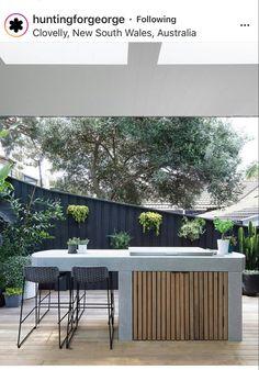 Outdoor Barbeque, Outdoor Kitchen Patio, Outdoor Kitchen Design, Outdoor Living, Outdoor Decor, Backyard Seating, Backyard Retreat, Backyard Patio, House Landscape