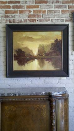 This painting, by Jan Schmuckal,  was once leased and used as set decoration for the fictional law firm, Lockhart Gardner,  the main character, Alicia Florrick, works for on the hit CBS drama, The Good Wife.