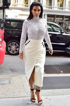 Kim Kardashian's super high fashion new wardrobe - Celebrity Fashion (Glamour.com UK)